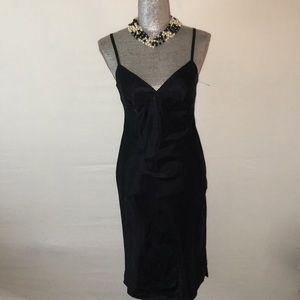 BCBG Black slip dress